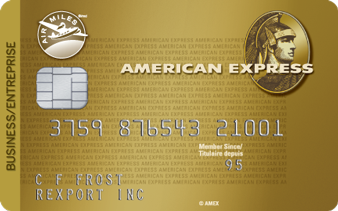 Air Miles for business credit card insurance coverage