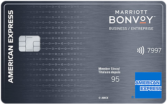 The Marriott Bonvoy Business American Express card's insurance coverage