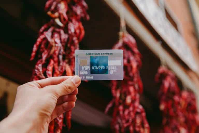 The sleek-looking semi-transparent SimplyCash Preferred Card from American Express