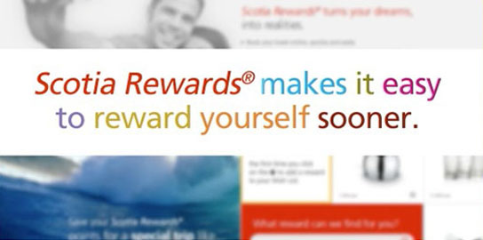 ScotiaRewards loyalty program ad