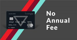canadian tire triangle world elite mastercard no annual fee