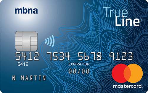 MBNA True Line Gold Mastercard: The best standard Mastercard in Canada
