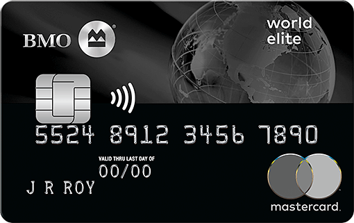 BMO World Elite Mastercard, the best travel Mastercard in Canada