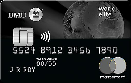 BMO World Elite Mastercard, the best travel Mastercard in Canada