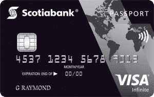 Scoatiabank Passport Visa Infinite Card, the Best Travel Credit Card in Canada for shopping