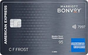 Marriott Bonvoy American Express, Best Travel Credit Card Canada for hotel stays