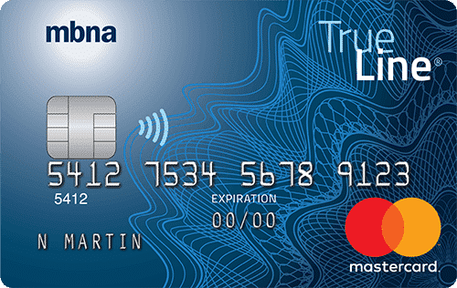 The MBNA True Line Mastercard One of the best low interest credit cards in Canada today