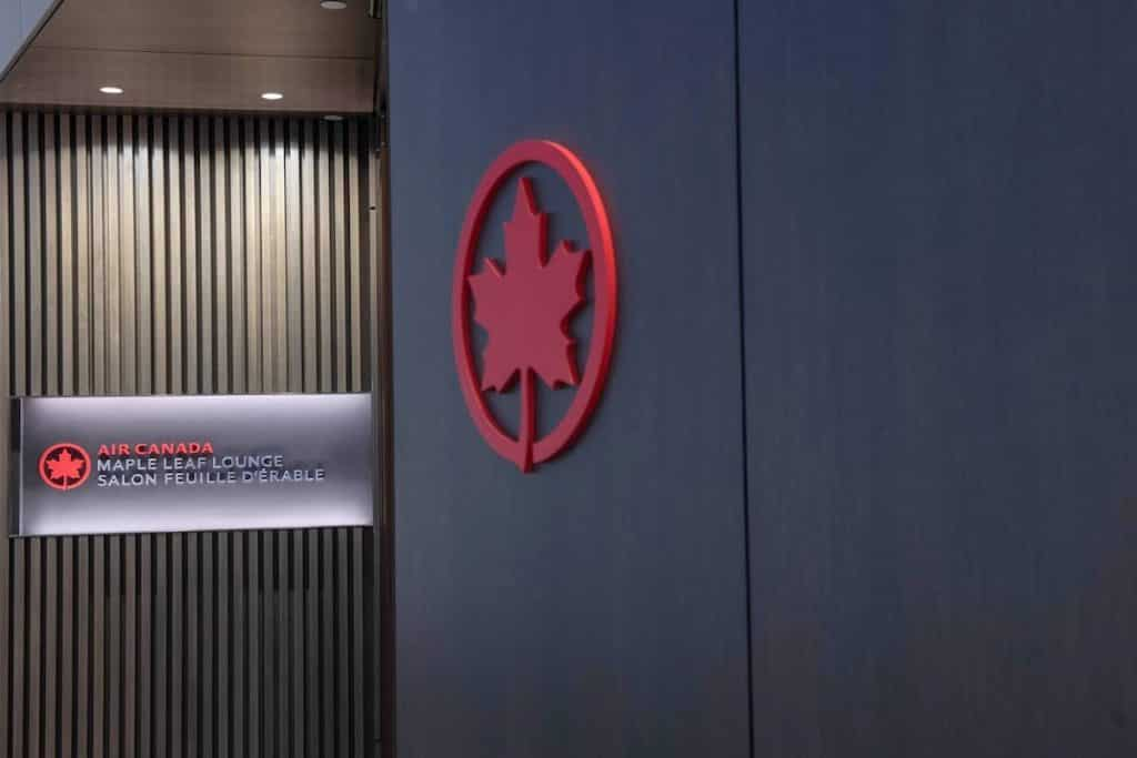 Maple Leaf Lounge access thanks to Air Canada Altitude status