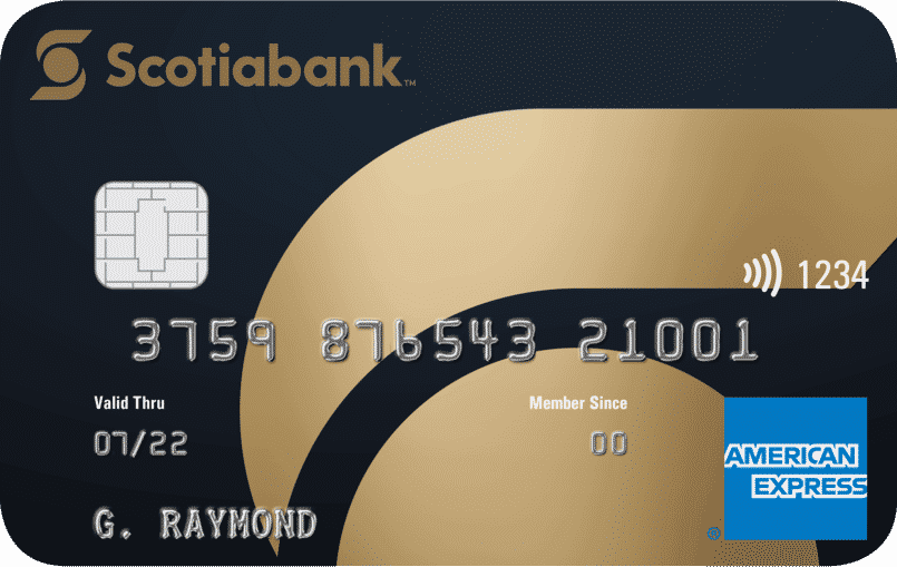 The Scotiabank Gold Amex, a good alternative to the Scotiabank SCENE Visa for Scotiabank account holders