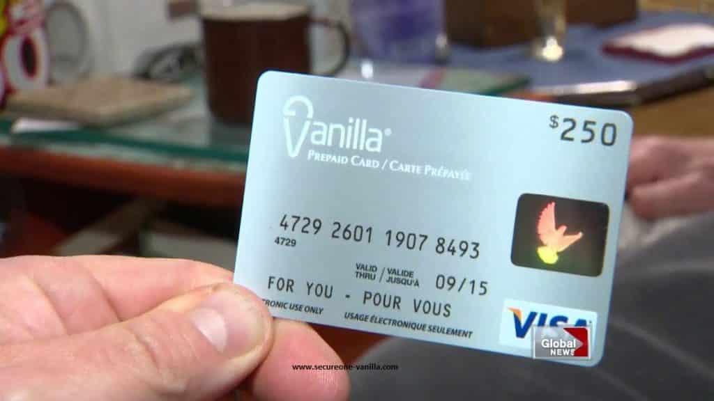 Vanilla Prepaid Card