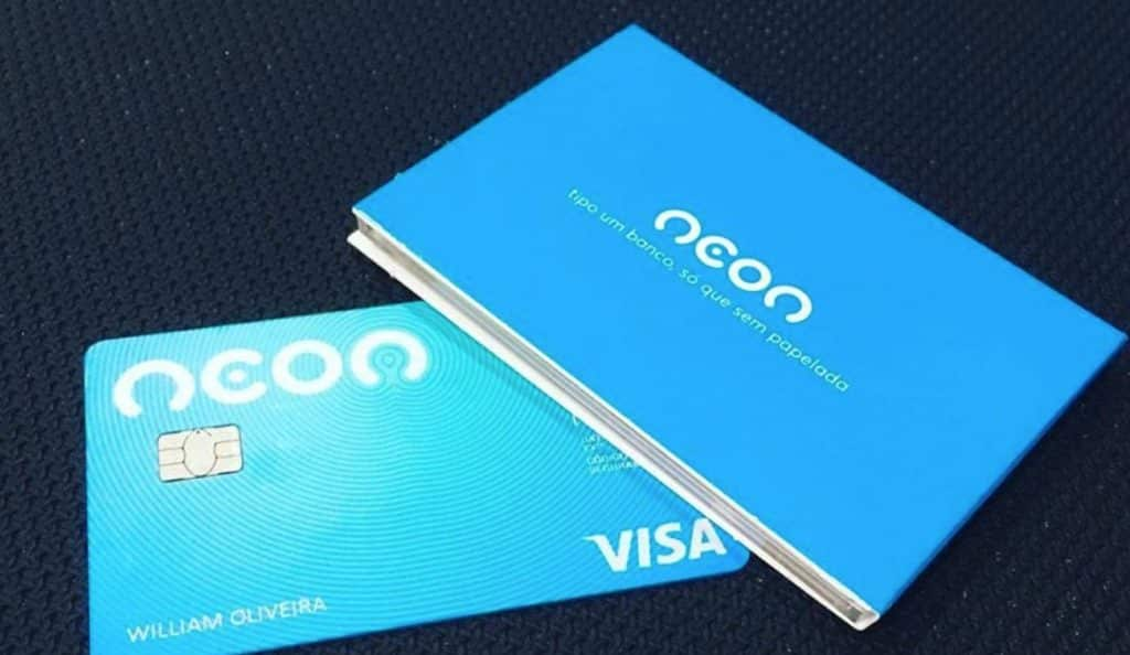 Neon Credit Debit Card Virtual Bank Current Account