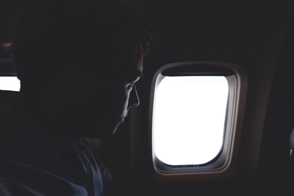 In-Flight entertainment Flair Airlines passenger flight