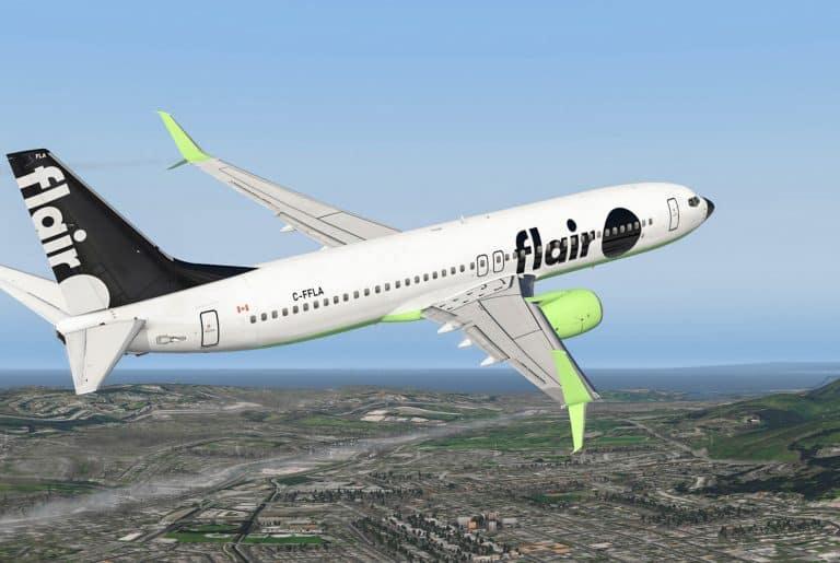 Flair Airlines Review Aircraft ULCCs cheap flights