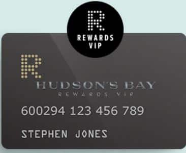 HBC Rewards, Hudson Bay's Rewards Plus Card