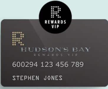 HBC Rewards, Hudson Bay's Rewards Plus Card