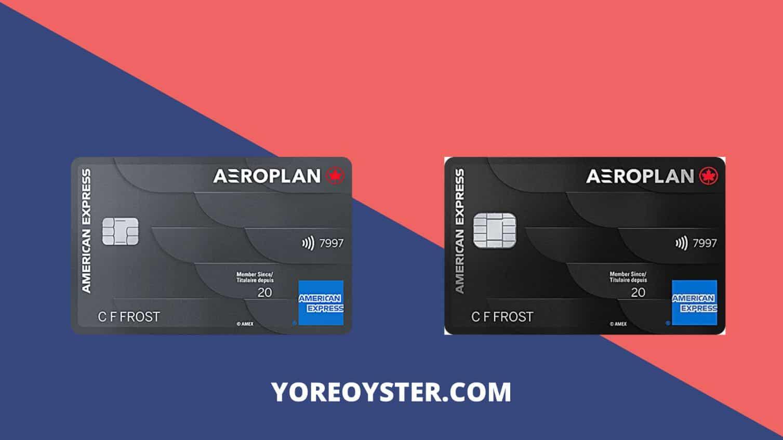 American Express' Aeroplan Card & Aeroplan Reserve Card