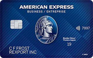 American Express Business Edge Card Canada