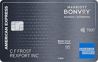 American Express Marriott Bonvoy Business Card Canada